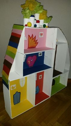 Inventions, Toy Chest, Lego, Preschool, Creative, Projects, Kids, Inspiration, Cardboard Houses