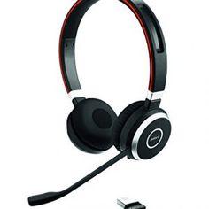 Jabra Evolve 65 Wireless Bluetooth Stereo Headset for PC, laptop, smartphone…