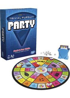 Anttila - Trivial Pursuit Party FI -peli | Lautapelit ja muut pelit