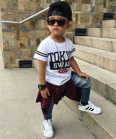 Toddler Boy Fashion, Little Boy Fashion, Kids Fashion Boy, Toddler Boy Outfits, Toddler Swag, Outfits Niños, Baby Boy Outfits, Kids Outfits, Baby Boy Dress