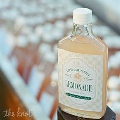 A Laid-Back Low-Country Chic Wedding in Charleston, South Carolina | lemonade favors