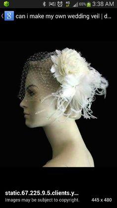 Harlem Renaissance style veil