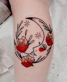 Luna: Meaning, Ideas and Photos - Tattoo Ideas - . - Luna: meaning, ideas and photos – tattoo ideas – – - Tatoo Art, Body Art Tattoos, Tattoo Drawings, New Tattoos, Small Tattoos, Cool Tattoos, Art Deco Tattoo, Piercing Tattoo, Arm Tattoo