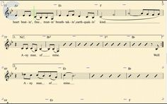 Clarinet - Any Man of Mine - Shania Twain - Sheet Music, Chords, & Vocals