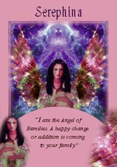 Oracle Card Serephina | Doreen Virtue | official Angel Therapy Web site