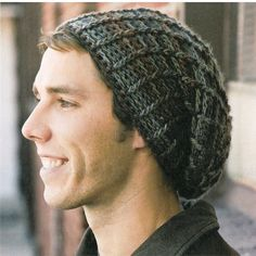 Slouchy Beanie Crochet Pattern | Crochet! Contest + 17 Free & Indie Patterns from Crystal Palace!