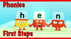 My students LOVE watching a new alphablocks video before we practice a new phonics sound! Lively Letters, Phonics Videos, Phonics Sounds, Short Vowels, Syllable, Learn To Read, Pre School, First Step, Preschool Activities