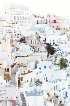 Bucket List #1 Fira, Santorini | Travel Photography | Annawithlove Photography