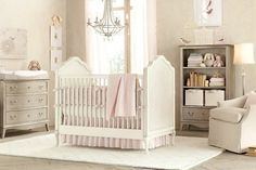 Elegant Baby Girl Nursery Ideas
