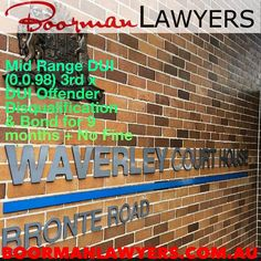 http://ift.tt/2mOC7P7  achieved a really good result for our client at #Waverley Local Court.  It was our clients 3rd #DUI offence & he also had a disqualified driving offence only 3 years ago.  We were able to show the Court that our client had taken some life changing & positive steps to not only admit to the fact that he has a problem with alcohol but further to obtain professional treatment from a clinical psychologist.  In addition to the medical intervention he also completed the…