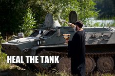 heal the tank!