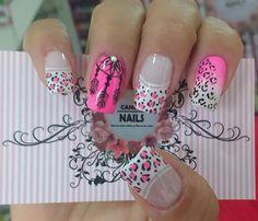 Cute Nail Art, Cute Nails, Pretty Nails, Perfect Nails, Gorgeous Nails, French Nails, Mani Pedi, Pedicure, Mandala Nails