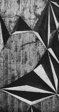 Ernst W. Kunz - Concrete Wall Relief, 1960s