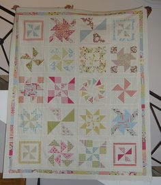 Pinwheel Sampler Quilt Along by rhanda70, via Flickr