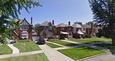 Some Google Street View photos from Detroit's Northwest Side showing a variety of neighborhoods, housing styles, and price points