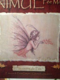 Poussiere De Fee Fairy Dust Nimue Fee Main Counted Cross Stitch Pattern France #nimuefeemain #crossstitchpatternforpattern