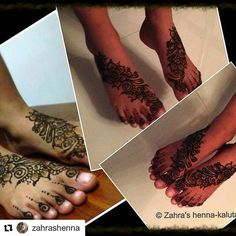 #follow us @hennafamily #hennafamily  #Repost @zahrashenna  Pretty little feet  #hennaart #hennatattoo #hennadesign #henna #mehndi #mehendi #hennafeet #Feet #art #tattoo