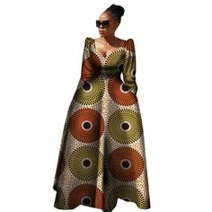 plus size long dress African Clothing for women Source by abdulaibobby. African Dresses For Kids, Latest African Fashion Dresses, African Dresses For Women, African Print Dresses, African Print Fashion, African Attire, African Outfits, Plus Size Long Dresses, Plus Size Vintage Dresses