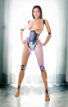 Cyborg Darkness, mkl model, d4n13l3,, cyber girl, cyberpunk girl, cyborg girl, bot, robot, future, futuristic, futuristic look, cyber style, by FuturisticNews.com