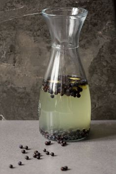 Fermented Juniper Berry juice: incredibly tasty, incredibly healthy.