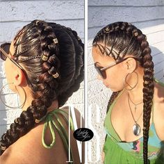 Simple Yet Dope - http://community.blackhairinformation.com/hairstyle-gallery/braids-twists/simple-yet-dope/