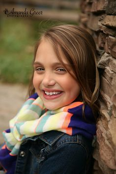 Little Girl 8 Year Old Session
