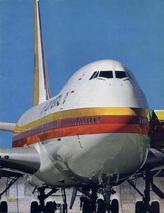 Continental Airlines Boeing 747, 1970's - Vintage Airliners (@VintageAirliner) | Twitter