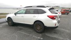 2016 Subaru Outback w/ BFG TA KO2 Method Wheels on a rainy day. Ready for A/T and Off Road