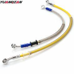 Universal Motorcycle Brake Pipe Tubing Brake Hose Line For Yamaha YZ 125 250 250F 450F 80 85 250X 250FX 450FX WR TTR XV400 R125 #Affiliate