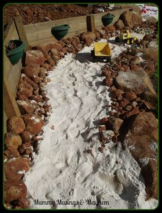 Building a Rock Quarry for Kids - A fun natural playspacefor children of all ages to explore, create and play in .  Mummy Musings & Mayhem
