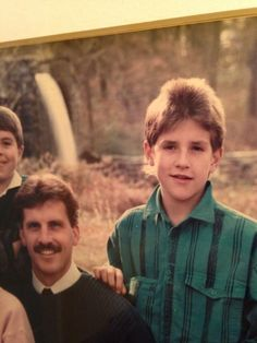 A mullet and a mohawk? Well done young Jon Acuff! Faux Mohawk, Popped Collar, King Shirt, Mullets, Throwback Thursday, Laughter, Humor, Couple Photos, Awesome
