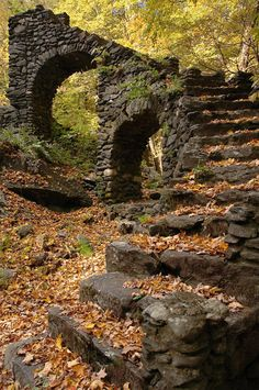 Madame Sherri Castle Ruins, West Chesterfield, New Hampshire