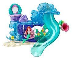 Amazon.com: Disney Princess Ariel's Bath Time Playset: Toys & Games $19.98