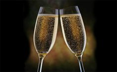 2014 new year text images ribbons borders champagne taste champagne glasses