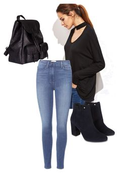 """""""lookin' good"""" by amelicaa25 ❤ liked on Polyvore featuring Paige Denim, Monsoon and Yves Saint Laurent"""