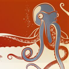 Octopus by Kenny Lindströms (higher-res repin from original source)