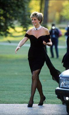 Los vestidos de noche más icónicos de la princesa Diana