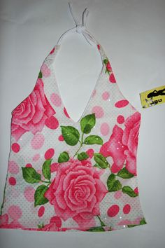 Damen Sommer Top Rosa + Weiß + Grün Neu , Super Süße damen bluse