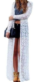 Kimono Lace Cardigan Long Sleeves Find yours here: https://ecolo-luca.com/products/kimono-lace-cardigan-long-sleeves