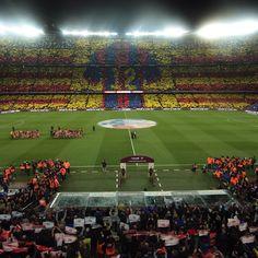 Camp Nou. El classico 2015
