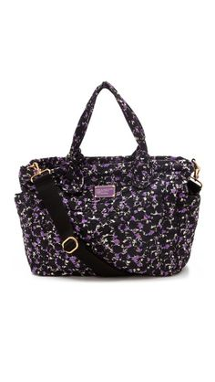now that's a baby bag! Marc by Marc Jacobs Pretty Nylon Printed Eliz-a-Baby Bag