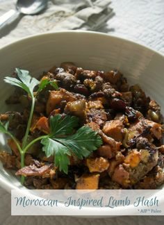 Moroccan-Inspired Lamb Hash