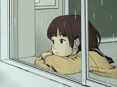 Drawing Aesthetic Anime 64 New Ideas Art Anime Fille, Anime Art Girl, Cartoon Kunst, Cartoon Art, Aesthetic Art, Aesthetic Anime, Art Mignon, Poses References, Sad Art