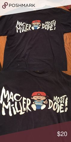 ef9dabdf Mac Miller Pittsburgh t shirt most dope Worn but still in good shape  authentic Mac Miller merch from Pittsburgh Shirts Tees - Short Sleeve