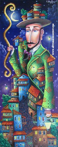 """Artist Zurab Martiashvili: 2012,  """"Mer city"""""""