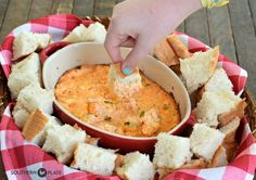 Good N Melty Pimiento Cheese Dip ~ http://www.southernplate.com