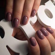 Сегодня однотонки, так как я опять заболела цвет #шоколадноелаттеln