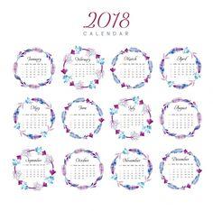 Resultado de imagem para calendário 2018 criativo