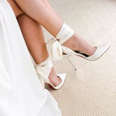 """1,487 Likes, 27 Comments - Bridal Musings Wedding Blog (@bridalmusings) on Instagram: """"Gasp! Shoes! Where have you been all our lives?! ✨ Spotted on @sarahseven . Gown by @sarahseven //…"""""""