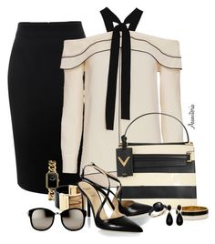 Sin título #1838 by asunvitoria on Polyvore featuring polyvore, fashion, style, Proenza Schouler, Alexander McQueen, Alexander White, Valentino, Michael Kors, Kate Spade, Chanel, Pomellato, Linda Farrow and clothing